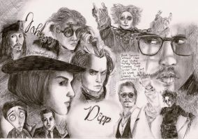 Mr.Depp by LittleHatCat