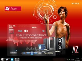 GLASS 8 for winamp by alonso255