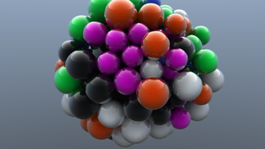 Abstract Ball of Spheres by 360snipeProductions