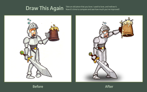 Have A Drink: Then and Now by brothersdude