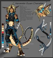 Harvester Ewan Chanalse Ref by RizyuKaizen