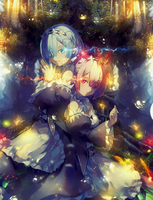 REM and RAM - Re zero by donghoyongcoi