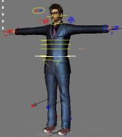3D Doctor Who Tenth Doctor Model FBX Version by silentrepose
