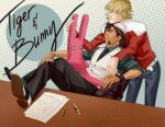 Tiger and Bunny by soopabunnie
