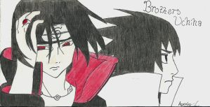 Brothers Uchiha by animeloverishere