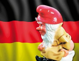 GERMAN GARDEN GNOME by cybaBABE