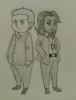 Active detectives Fusco and Carter by triplesight3394