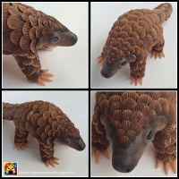 Pangolin by LemonCakeDesigns