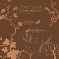 PlantTheme-Brushes for PS6+ by maybe55