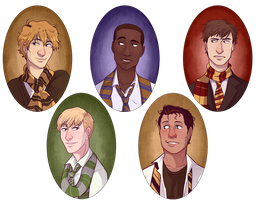Hogwarts Babies Yearbook by k0hikki