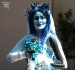 Corpse Bride close up by Izin