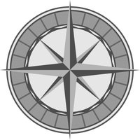 Compass Rose by Sarrel