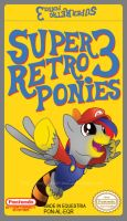 Commission: Super Retro Ponies 3 Label by Groxy-Cyber-Soul