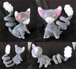 Glameow Plush by xSystem