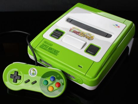 custom Yoshis island SNES by Zoki64