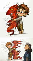Can I keep this little dragon? by Lis-Alis