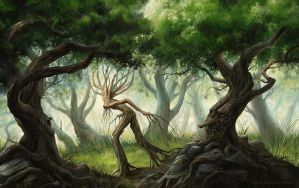 Ents and Huorns by gonzalokenny