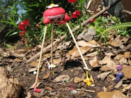 Pikmin at the Onion by Rutela