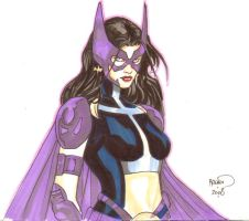 Huntress sketch for Lille by PaulRenaud