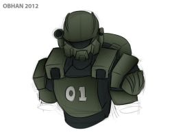 Quick Sketch - New Starship Troopers by Obhan