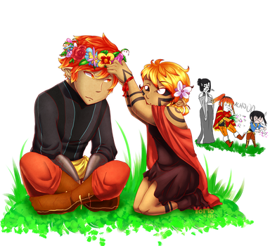 Flower Crown by YoMo715