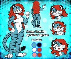 Commission - Inachi Reference Sheet by JulieKarbon