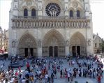 Elevated view of Notre Dame by EUtouring