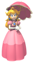 Princess Peach's Umbrella Tactics (MKA) by Vinfreild