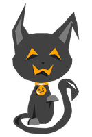 Halloween Kitty by litecrush
