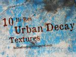 10 Hi-Res Urban Decay Textures by tau-kast