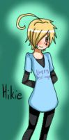 Hikie the cutie by CowsEat-Pineapples