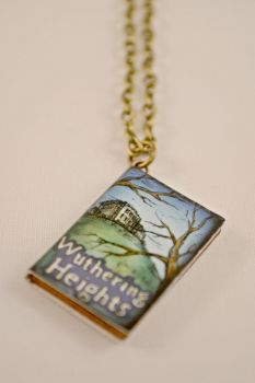 Wuthering Heights Novel Antique Bronze Necklace by AshsMysticEmporium