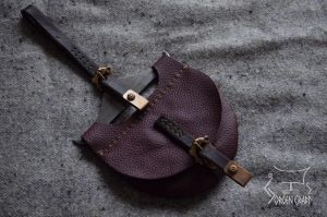 Fire steel with pouch by Jorgen-Craft