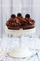 Chocolate cupcakes by kupenska