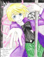 Alois on a POLE by TheUndertakersKitty