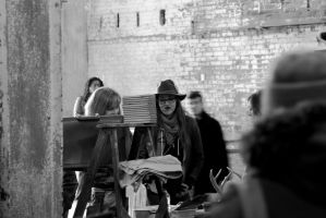 PRETTY HAT by GSMStreetPhotography