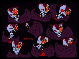 Many faces of NOS-4-A2 by PurpleRAGE9205