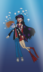 Sailor Mars to the rescue col by ZeFrenchM