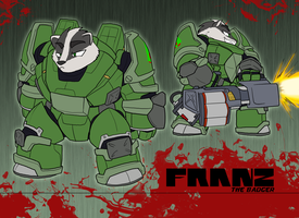 Franz, the Badger by Toughset