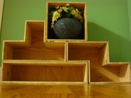 Tetris Shelves by Rusted-Silhouette