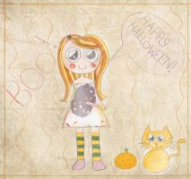 Halloween's Coming by Sonandra