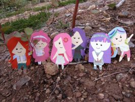 My Little Pony Paper Dolls by PixieParrot