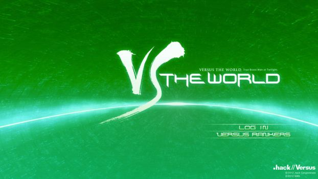 Green VS The World (.hack//Versus) by Osama35