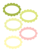 Limeade Oval Frames Free Download by chocolate-rabbit