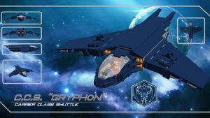 Gryphon Shuttle by theomegareaper101