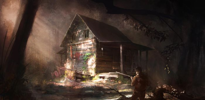 Forest Shack by weebasaurus