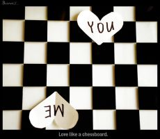 Love like a chessboard. by Bunnis