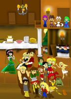 Best Holiday party by Missplayer30