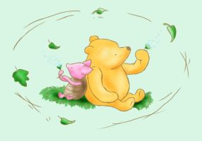Classic Pooh Bear by Songficcer