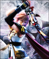 Lightning - Final Fantasy by Prattman